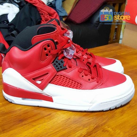 info for 30f21 bddc1 Jordan Other - Air Jordan Spizike Red White size 10.5 315371-603